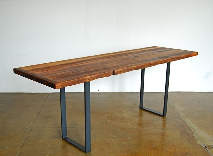 Functional Narrow Kitchen Table Uses Galley Kitchen Design With Regard To Thin Long Dining Tables (View 5 of 25)