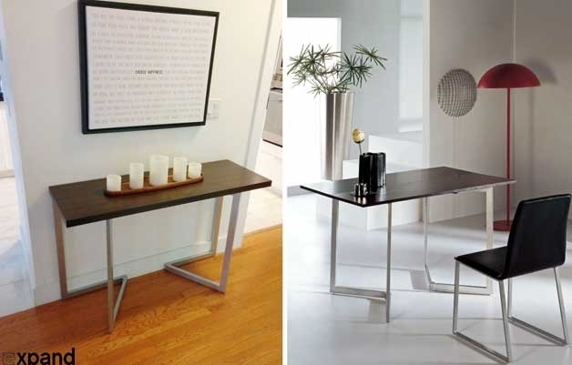 Furniture For Small Spaces | 17 Genious & Affordable Ideas (Must See!) For Dining Tables With Fold Away Chairs (View 6 of 25)
