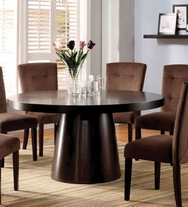 Furniture Of America Cm3849T Havana Contemporary Espresso Finish Regarding Havana Dining Tables (Image 7 of 25)