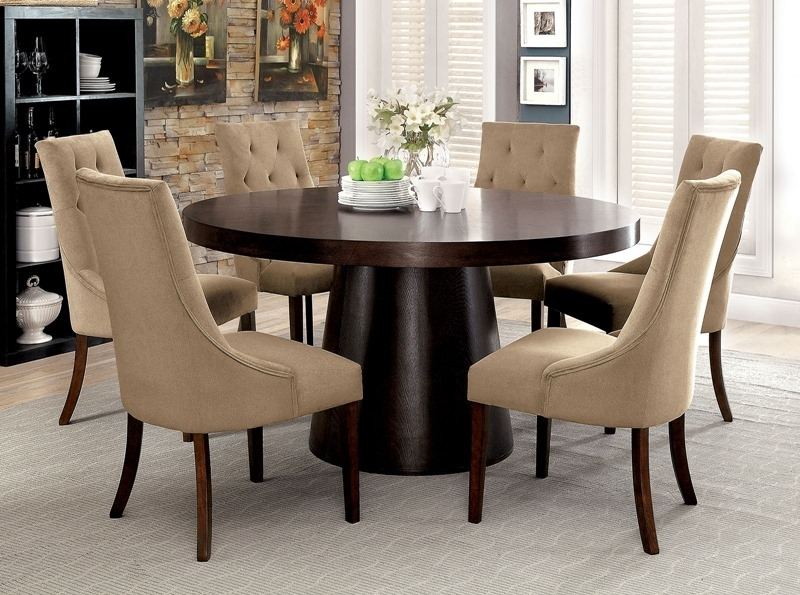 Furniture Of America | Cm3849T Havana Dining Room Set | Dallas Within Havana Dining Tables (Image 6 of 25)