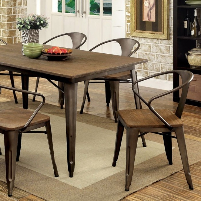 Furniture Of America | Cooper I | Dining Table For Cooper Dining Tables (Image 16 of 25)