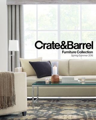 Furniture Resource Guide Spring Summer 2016Crate And Barrel Within Bale Rustic Grey 7 Piece Dining Sets With Pearson White Side Chairs (Image 14 of 25)