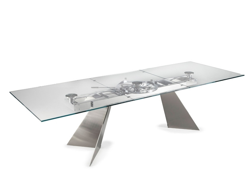 Galax | Crystal Tablenaos Design Studio D'urbino Lomazzi For Crystal Dining Tables (View 18 of 25)