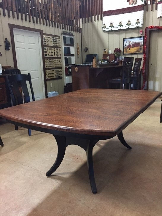 Galveston Table W/2 Leaves – Weaver's Farm & Furniture Regarding Weaver Ii Dining Tables (Photo 17 of 25)