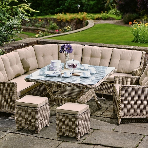 Garden Dining Sets – Rattan Garden Sets | Barker & Stonehouse With Garden Dining Tables (View 18 of 25)