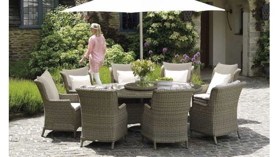 Garden Dining Tables & Sets | Luxury Garden Furniture | Holloways with Garden Dining Tables