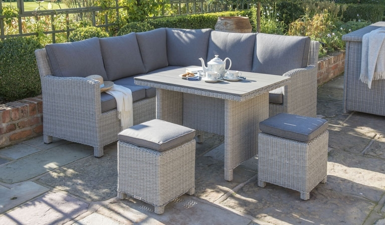 Garden Furniture Buying Guide – Indoors Outdoors Throughout Garden Dining Tables (View 13 of 25)