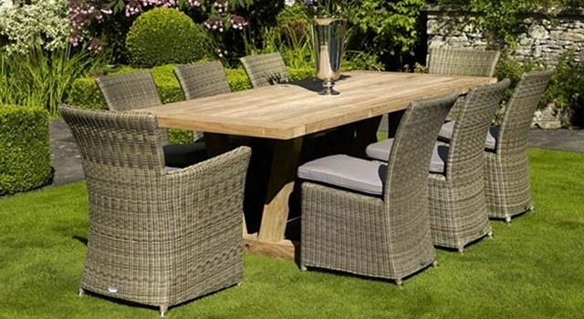 Garden Tables & Chairs | Garden Furniture | Van Hage | Van Hage Intended For Garden Dining Tables And Chairs (Image 10 of 25)