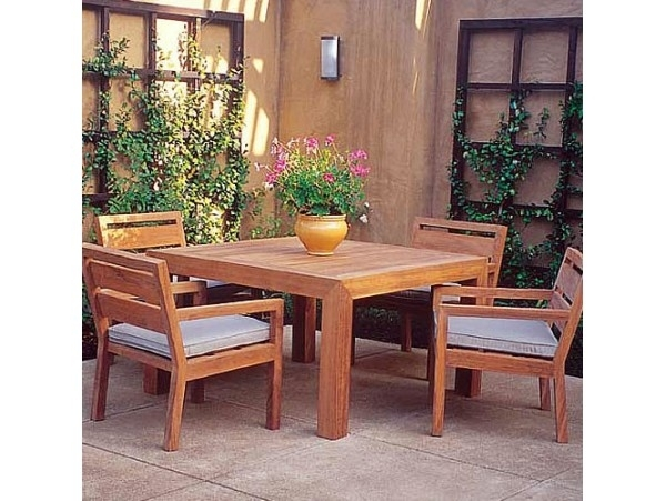 Gardenside Palazzo Square Dining Table (Gar Tab 1620)Www Within Palazzo Rectangle Dining Tables (Image 12 of 25)