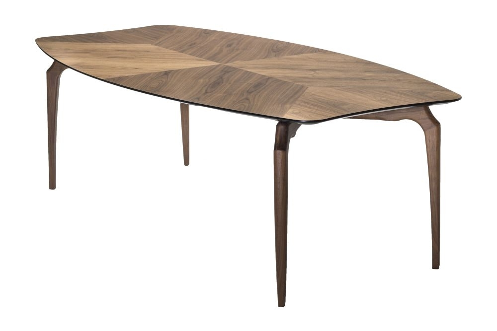 Gaulino Dining Table – Wood Topbd Barcelona Clippings Regarding Barcelona Dining Tables (View 19 of 25)