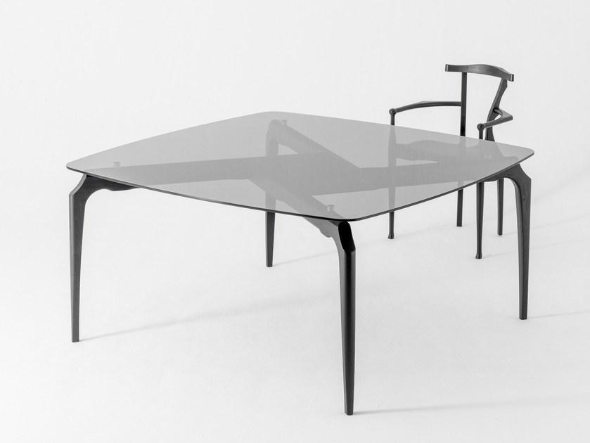 Gaulino | Square Tablebd Barcelona Design Design Oscar Tusquets For Barcelona Dining Tables (Image 17 of 25)