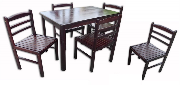Gavin Dining Set 6's – Lorenz Furniture With Regard To Gavin Dining Tables (View 8 of 25)