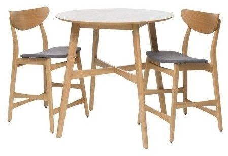 Gavin Dining Set – Grey/oak – Christopher Knight Home, Dark Grey Pertaining To Gavin Dining Tables (View 14 of 25)
