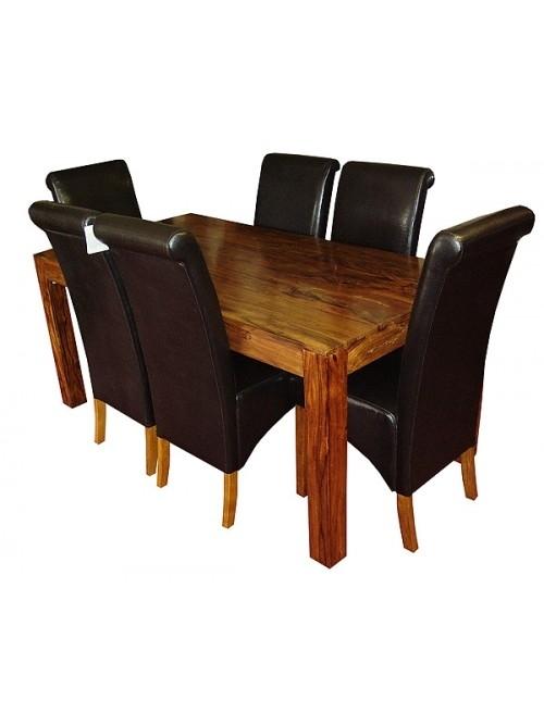 Gaya Cube Sheesham Furniture – Cuba Sheesham Wood Furniture. Pertaining To Sheesham Wood Dining Tables (Photo 25 of 25)