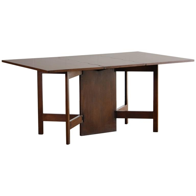George Nelson For Herman Miller Drop-Leaf Dining Table At 1Stdibs with Cheap Drop Leaf Dining Tables