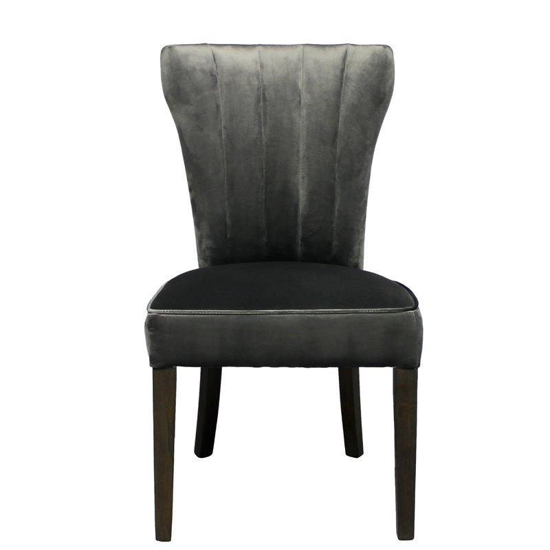 George Oliver Caden Clive Side Upholstered Dining Chair | Wayfair.ca pertaining to Caden 6 Piece Dining Sets With Upholstered Side Chair