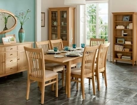 Get The 8 Seater Dining Table For Your Family's Ultimate Comfort In Oak 6 Seater Dining Tables (Image 18 of 25)