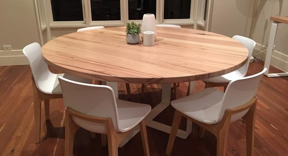 Get The Best Round Dining Table For 6 – Home Decor Ideas With Circle Dining Tables (Image 10 of 25)