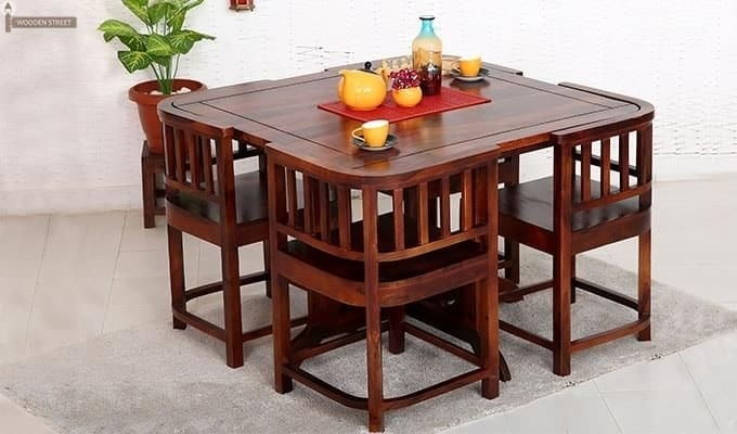 Get This Amazing Space Saving 4 Seater #dining #table #set Online With Regard To 4 Seat Dining Tables (View 10 of 25)