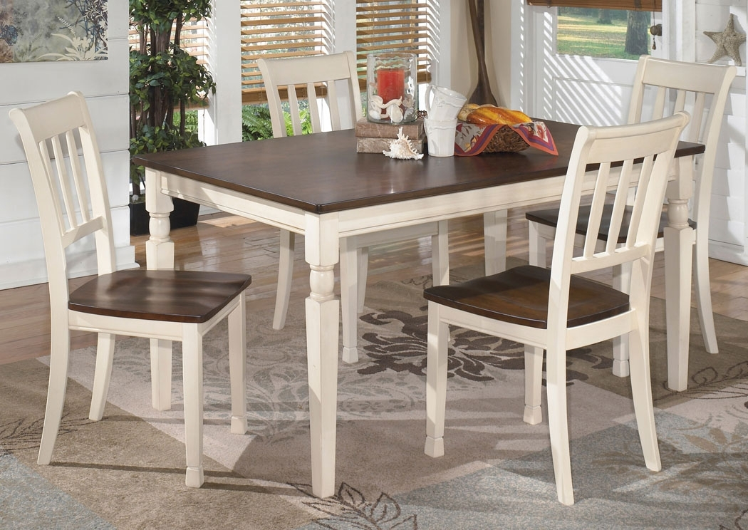 Gibson Furniture – Gallatin, Hendersonville, Nashville Tn Whitesburg For Craftsman 7 Piece Rectangle Extension Dining Sets With Side Chairs (Image 14 of 25)