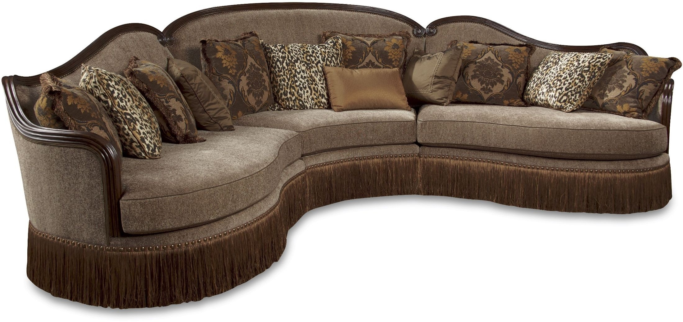 Giovanna Sable 3 Piece Sectional From Art | Coleman Furniture Inside Harper Down 3 Piece Sectionals (Image 9 of 25)