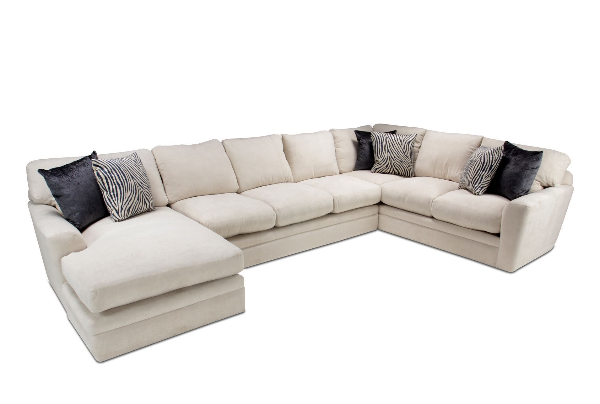 Glamour 3 Piece Sectional (Image 14 of 25)