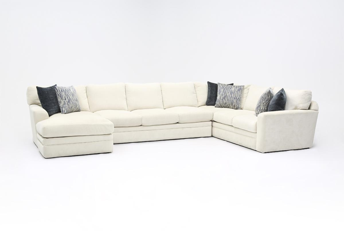 Glamour Ii 3 Piece Sectional | Living Spaces within Glamour Ii 3 Piece Sectionals