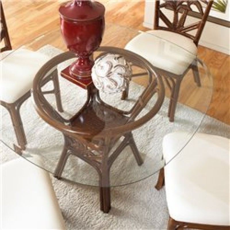 Glass And Rattan Dining Se Wicker And Glass Dining Table New Argos In Wicker And Glass Dining Tables (Image 5 of 25)