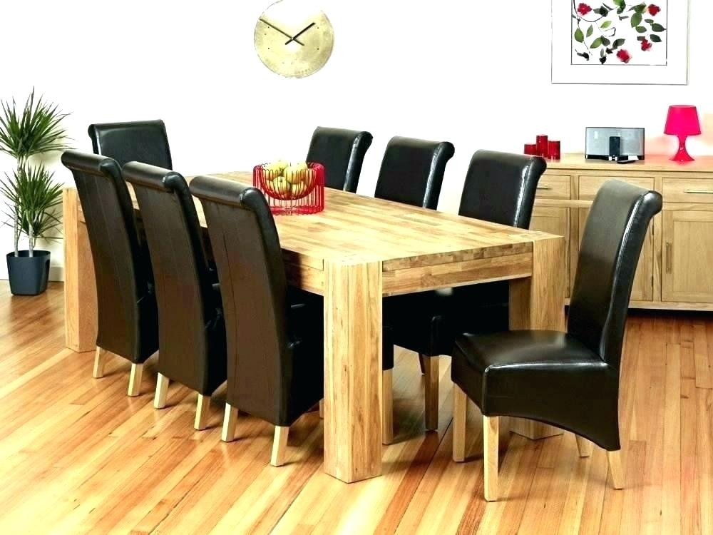 Glass Dining Room Table 8 Chairs Round Dining Table And 8 Chairs Pertaining To Dining Tables And 8 Chairs For Sale (Image 21 of 25)