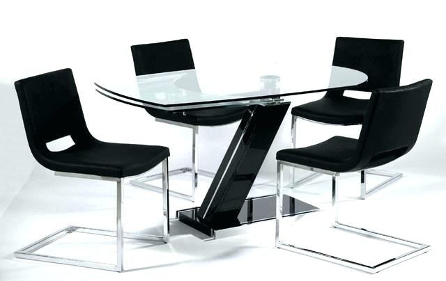 Glass Dining Room Table 8 Chairs Round Dining Table And 8 Chairs regarding Extending Glass Dining Tables and 8 Chairs