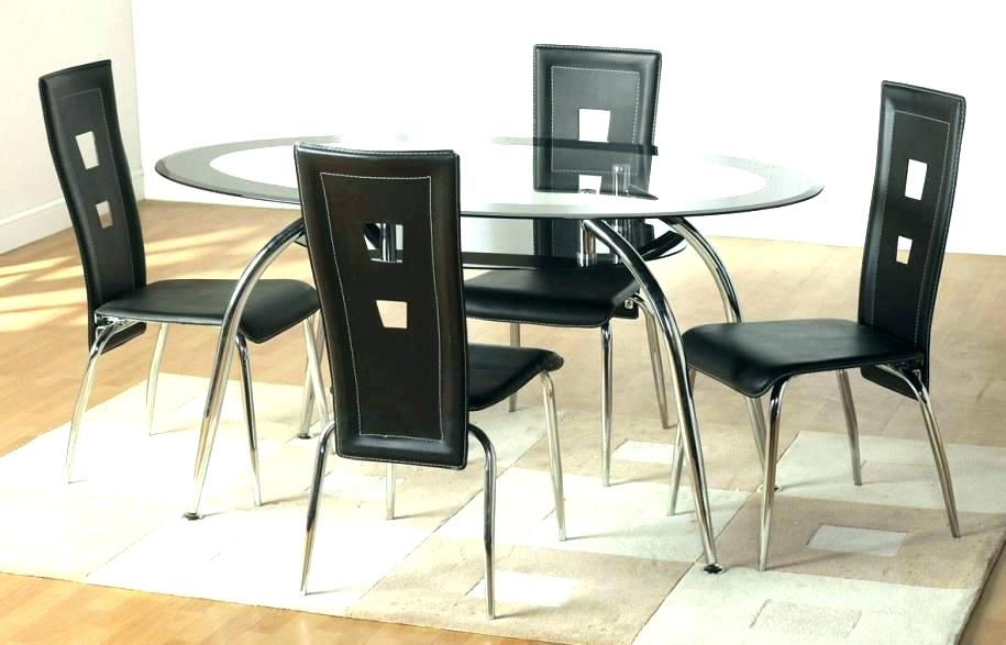 Glass Dining Room Tables And Chairs – Kuchniauani Intended For Glass Dining Tables And Chairs (Image 15 of 25)