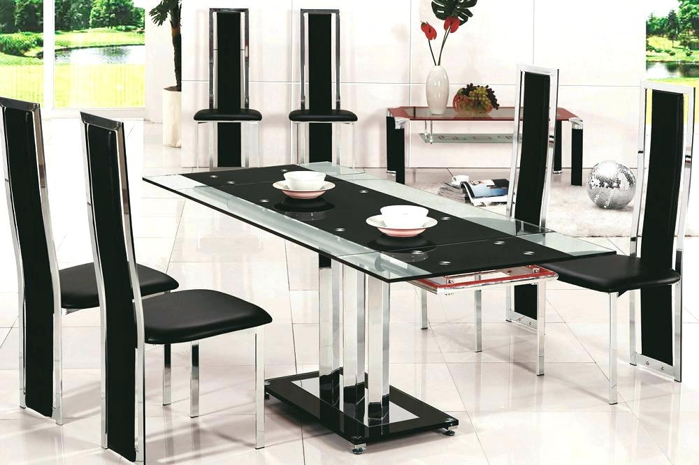 Glass Dining Table And 6 Chairs Sale Cheap Room Sets White Small Set With Regard To Cheap Glass Dining Tables And 6 Chairs (View 15 of 25)
