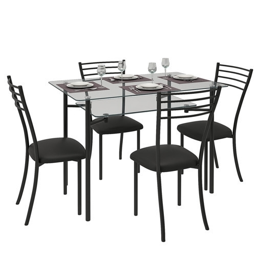 Glass Dining Table At Rs 10000 /unit | Glass Dining Table | Id with Glasses Dining Tables