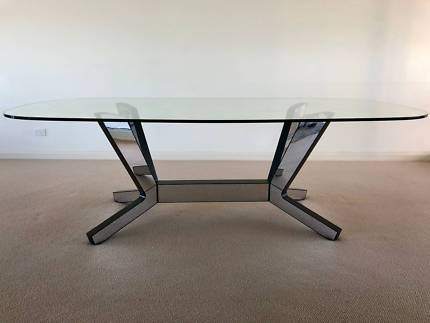 Glass Dining Table | Dining Tables | Gumtree Australia Belmont Area Throughout Perth Glass Dining Tables (View 20 of 25)