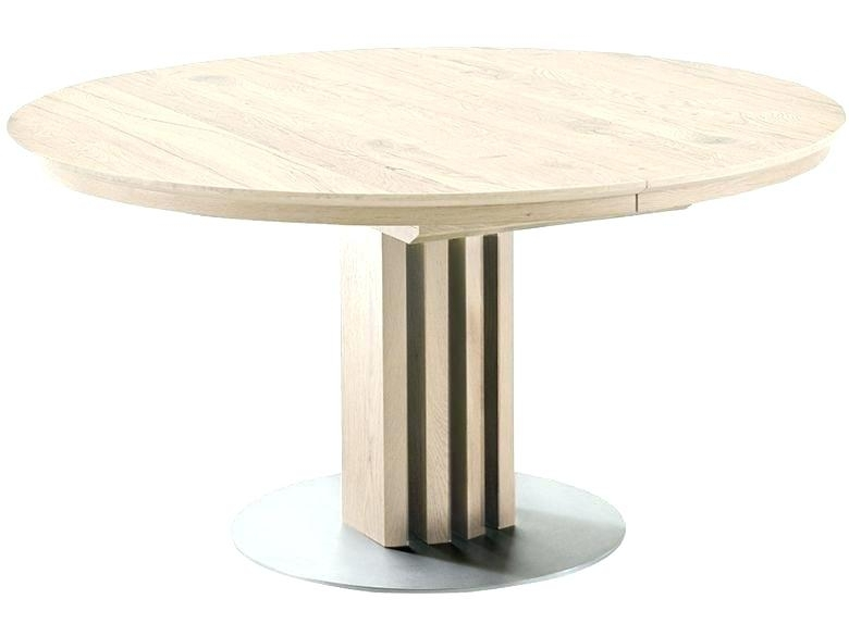 Glass Dining Table Extending Grey Frosted Glass Dining Table Throughout Extending Round Dining Tables (Image 12 of 25)