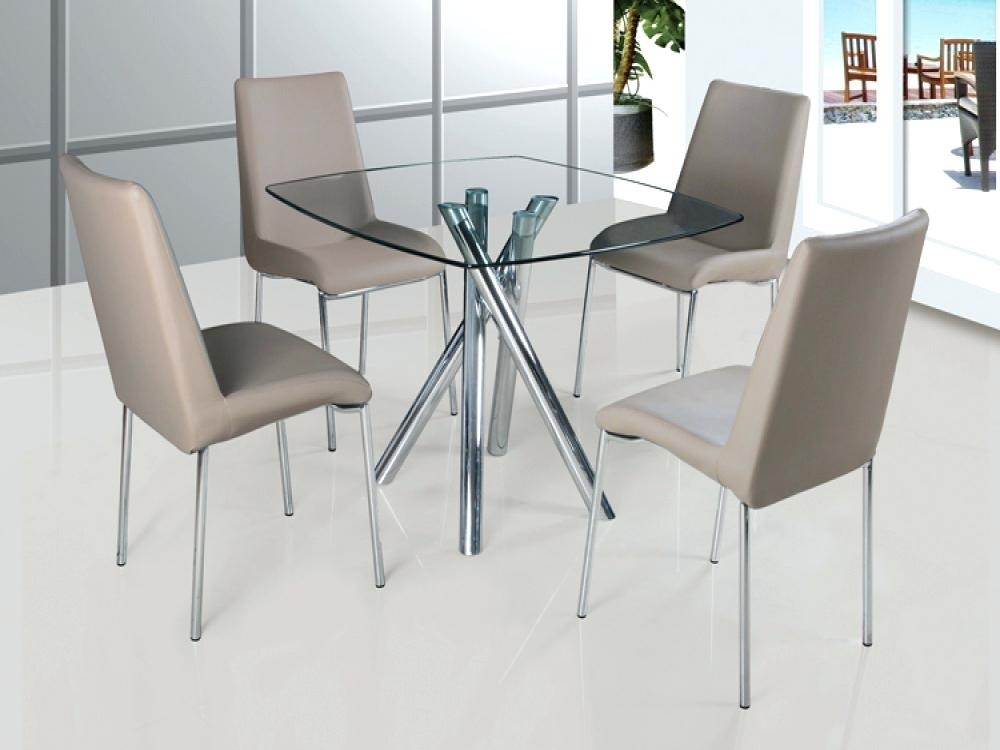 Glass Dining Table Set Dining Table For Kitchen Creative Of Glass Pertaining To Black Glass Dining Tables And 4 Chairs (Image 17 of 25)