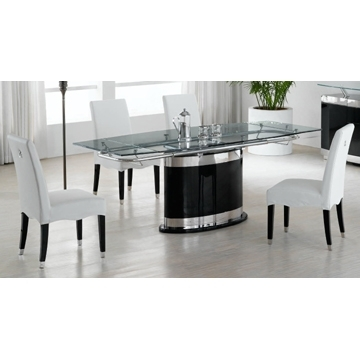 Glass Dining Table Set | Wooden Dining Room Chairs Pertaining To Modern Dining Suites (Image 13 of 25)