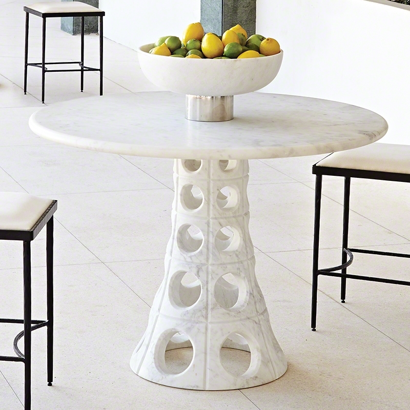 Global Views | Products | Taper Circle Dining Table Inside Circle Dining Tables (Image 12 of 25)