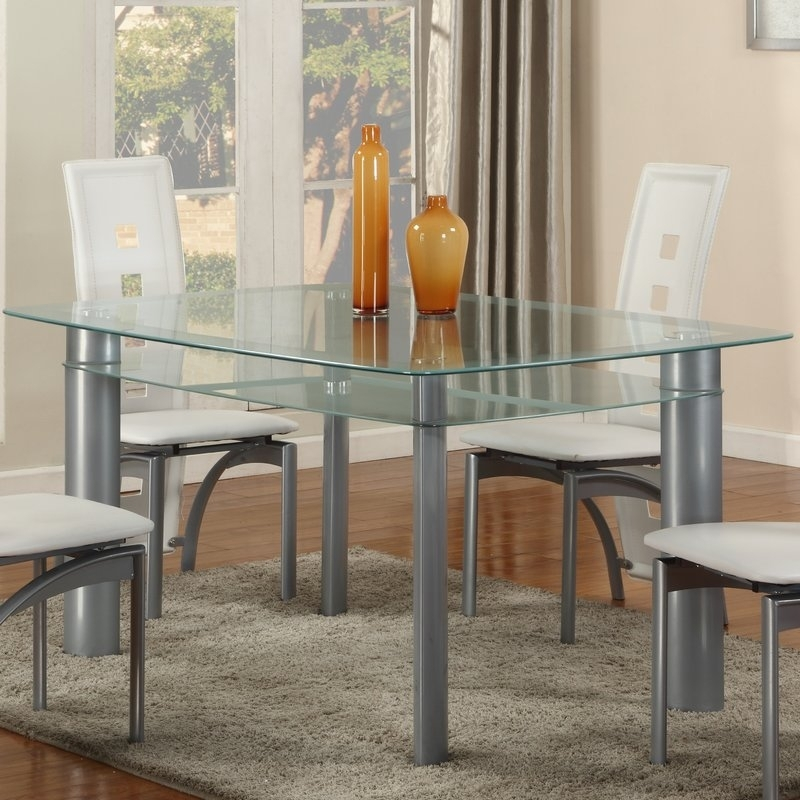 Globaltradingunlimited Metro Dining Table | Wayfair pertaining to Metro Dining Tables