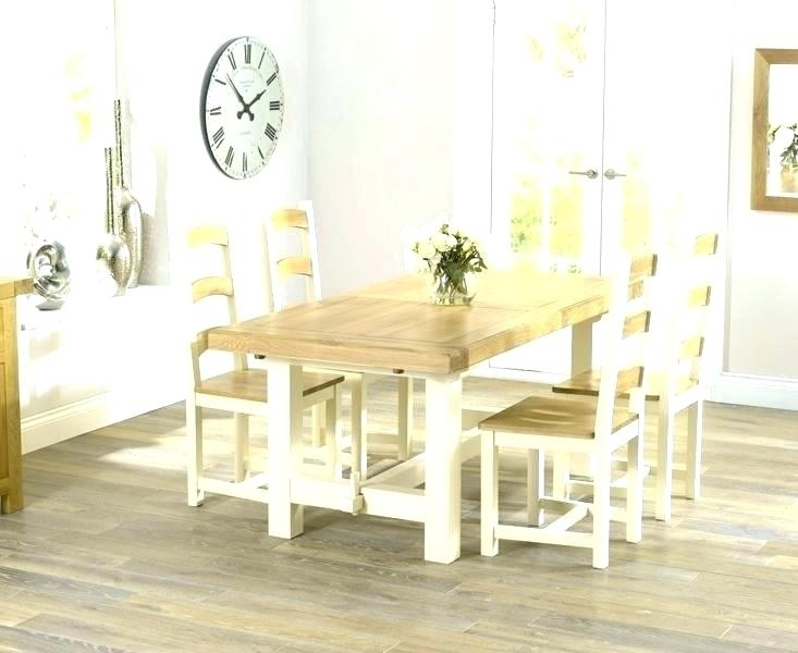 Good Looking Cream Round Table And Chairs Dining Sideboard Kitchen In Cream Dining Tables And Chairs (Image 16 of 25)