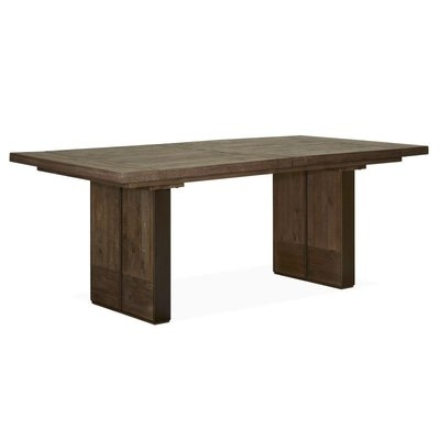 Gracie Oaks Amos Modish Wooden Square Extendable Dining Table | Wayfair Within Amos Extension Dining Tables (Image 12 of 25)