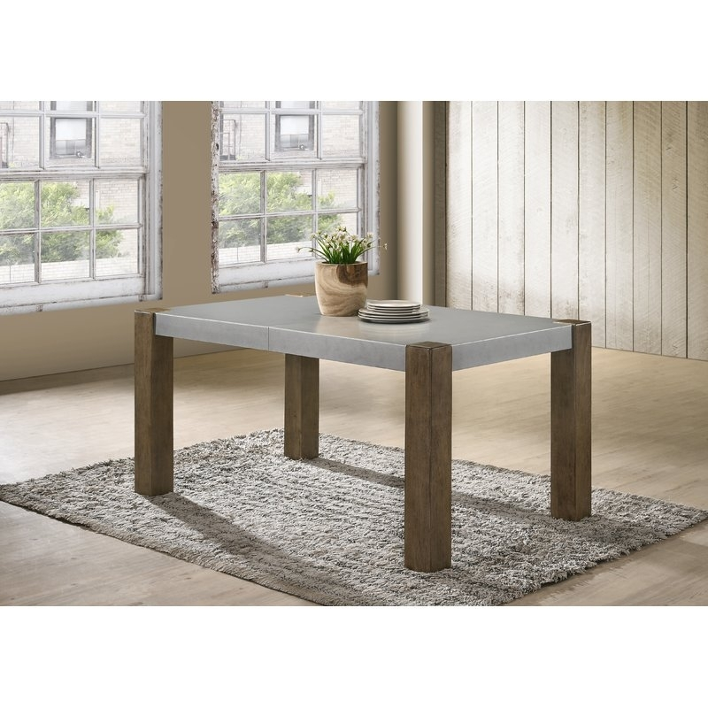 Gracie Oaks Colmont Butterfly Leaf Dining Table | Wayfair Within Teagan Extension Dining Tables (View 7 of 25)
