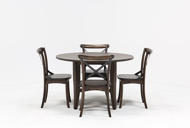 Featured Image of Grady 5 Piece Round Dining Sets