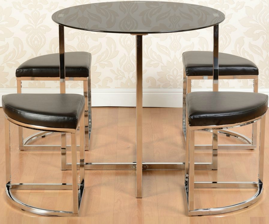 Grafton Stowaway Dining Set – Noct Offs Pertaining To Stowaway Dining Tables And Chairs (View 19 of 25)