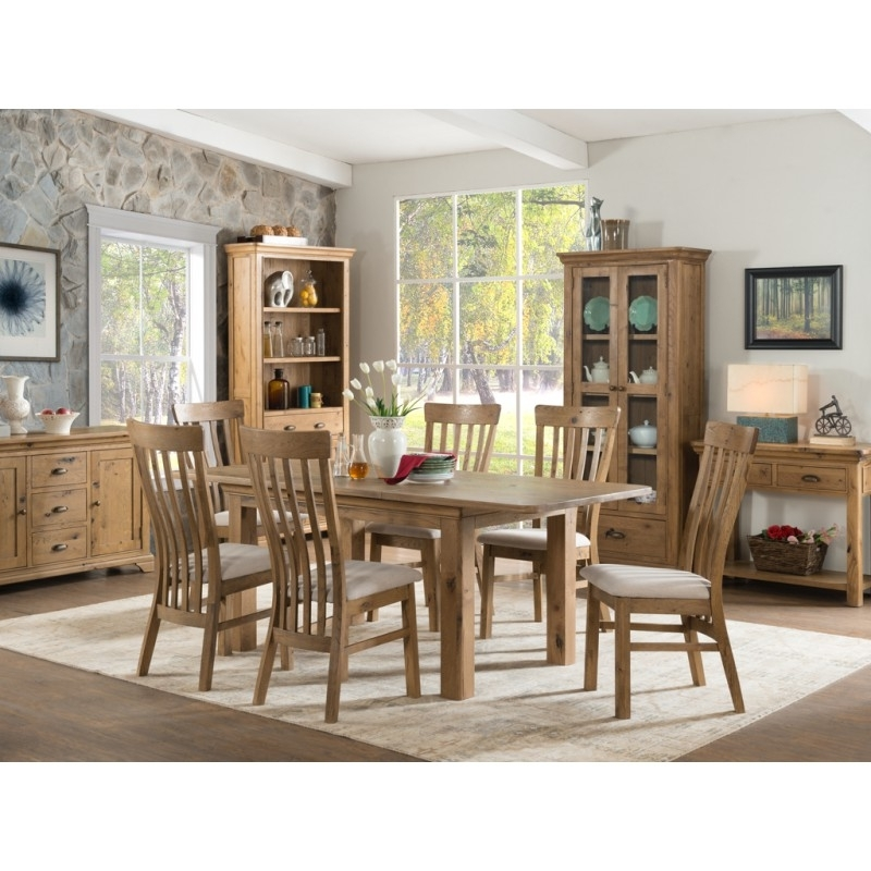 Grampian Furnishers | Lyon 120/170 Dining Table With 4 Chairs And 2 Within Lyon Dining Tables (Image 7 of 25)