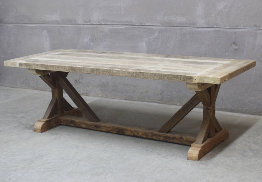 Grand Duke Reclaimed Wood Dining Tablerust Collections Pertaining To Cheap Reclaimed Wood Dining Tables (Image 7 of 25)