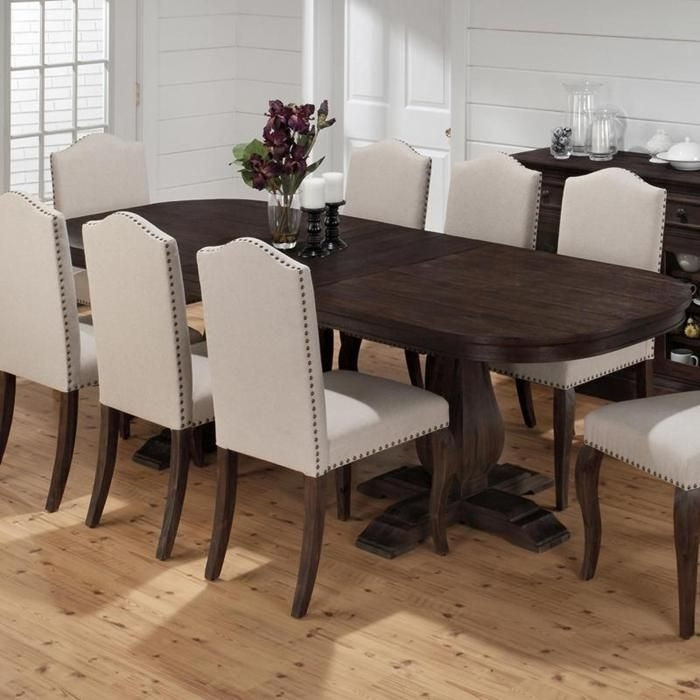 Grand Terrace Dining Table With Butterfly Leaf | Nebraska Furniture Within Chapleau Ii 9 Piece Extension Dining Tables With Side Chairs (Image 14 of 25)