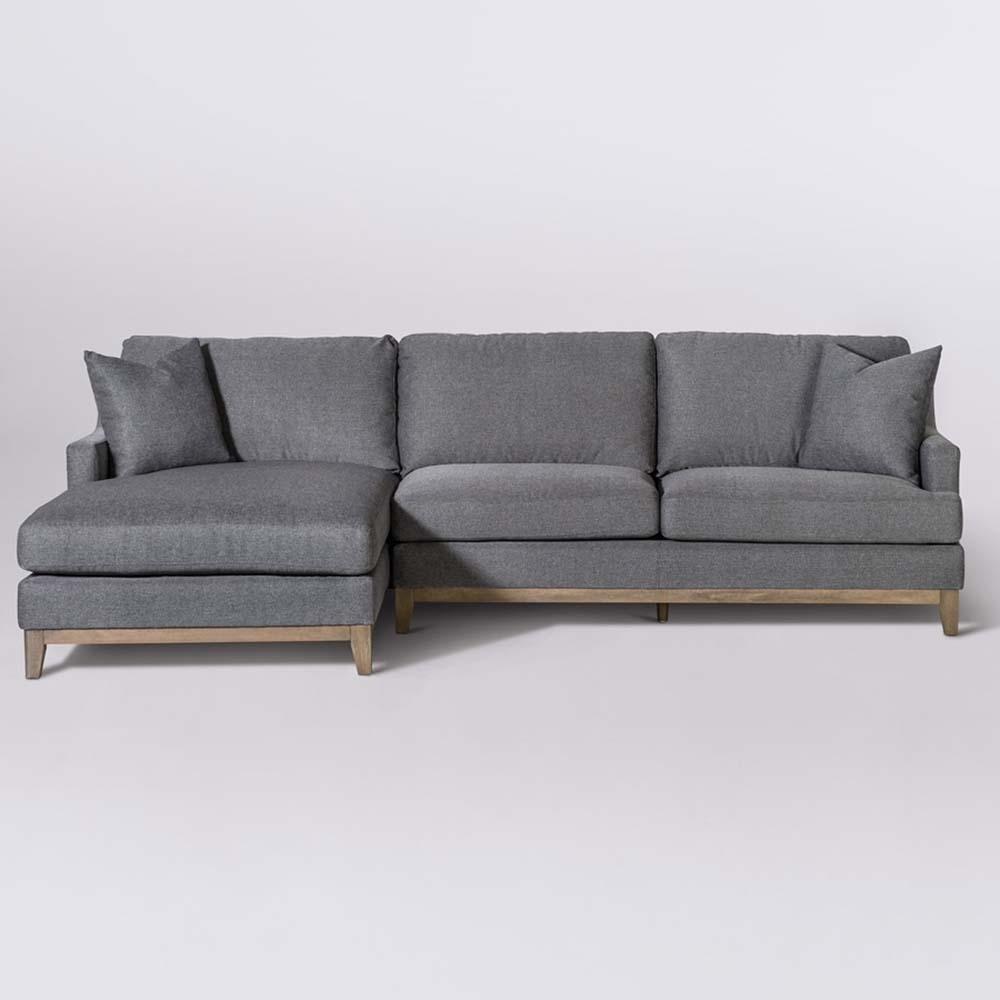 Grant Sectional At10300-Cs/dfw-Laf with Norfolk Grey 3 Piece Sectionals With Laf Chaise