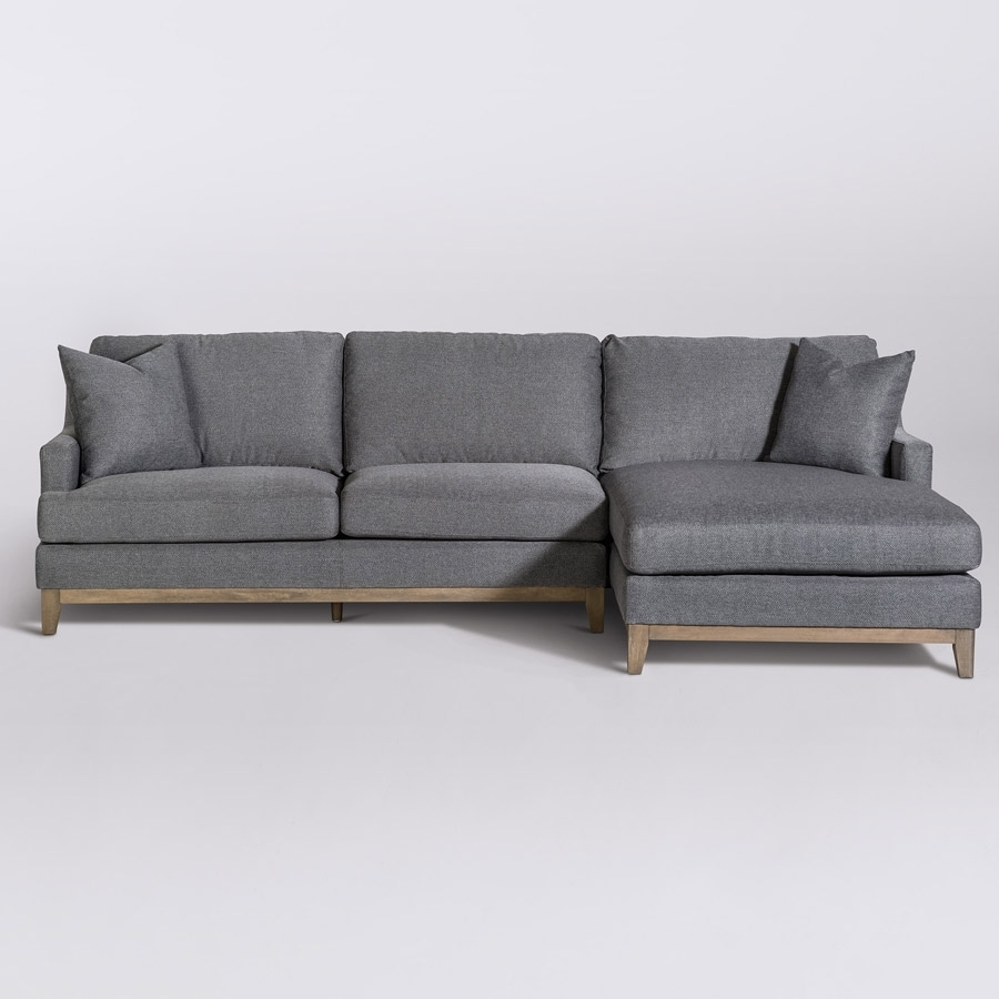 Grant Sectional – Right Facing Chaise (Raf) – Alder & Tweed Furniture Within Alder 4 Piece Sectionals (Image 12 of 25)