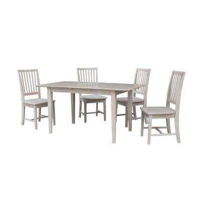 Gray – Dining Room Sets – Kitchen & Dining Room Furniture – The Home Regarding Craftsman 5 Piece Round Dining Sets With Uph Side Chairs (View 10 of 25)